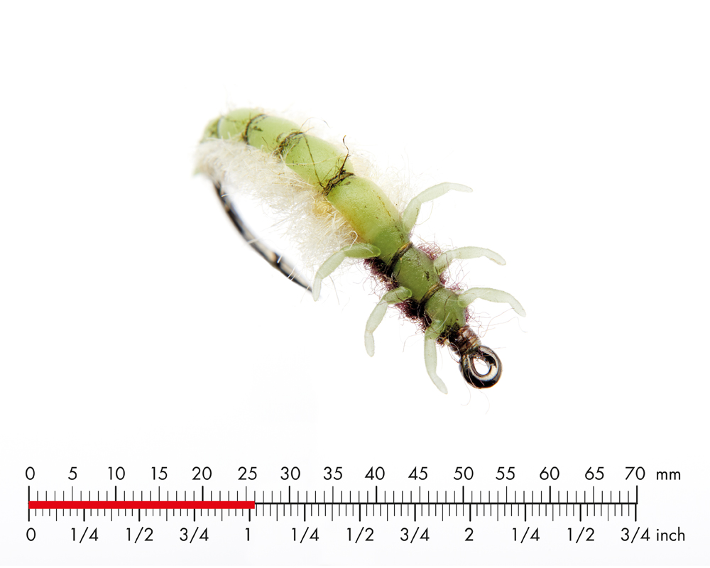 J:son Caddis Larva 1 Apple Green