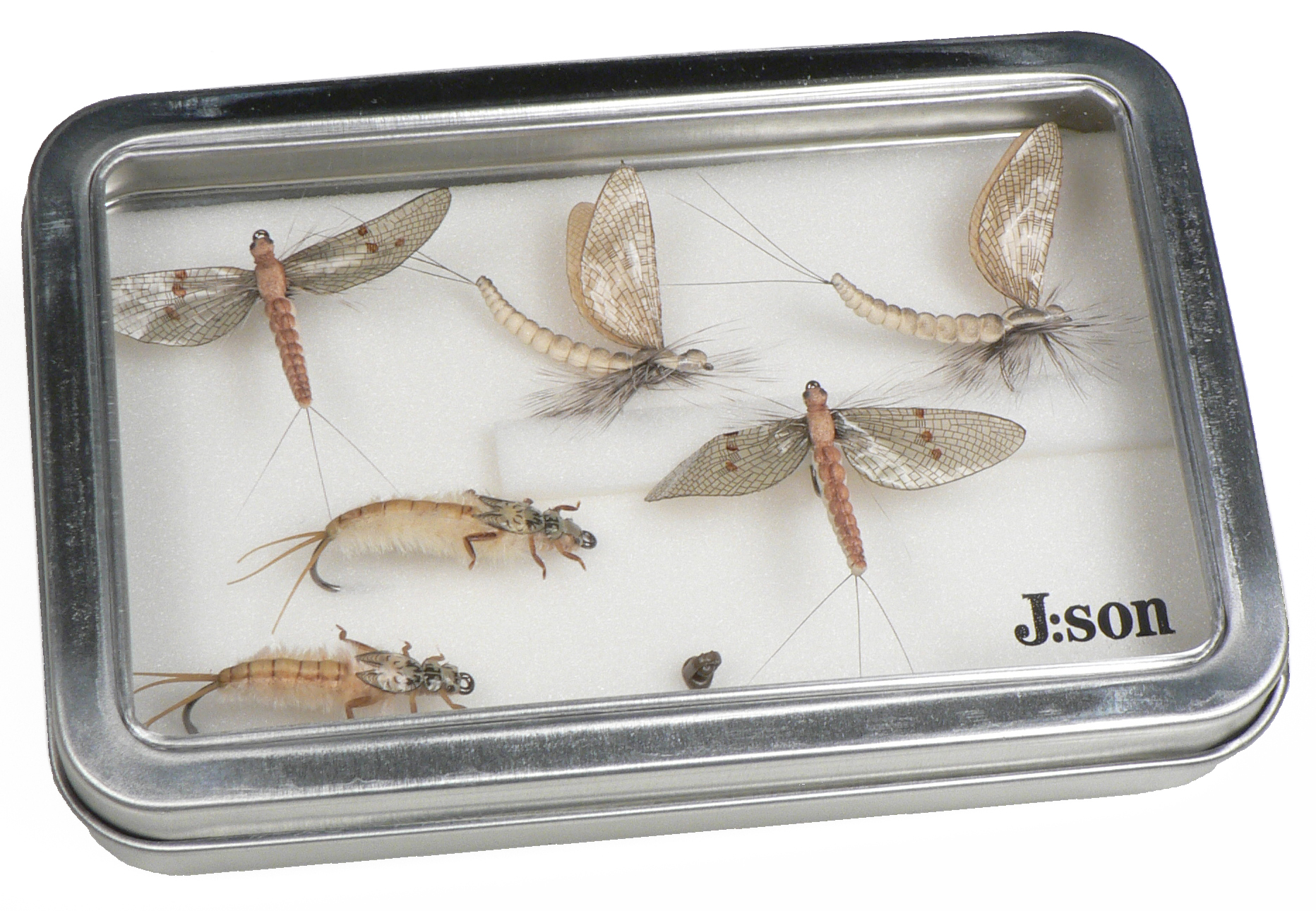 J:son flies accessories gift tins hatch packs sweden Gift Tin
