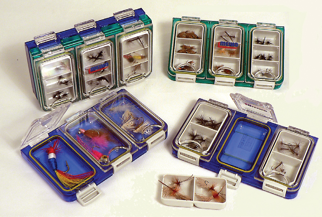Meiho daiichi J:son vosseler flybox fly box waterproof system C&F clear