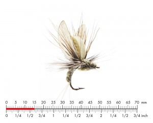 J:son Mayfly Emerger 3 Light Olive