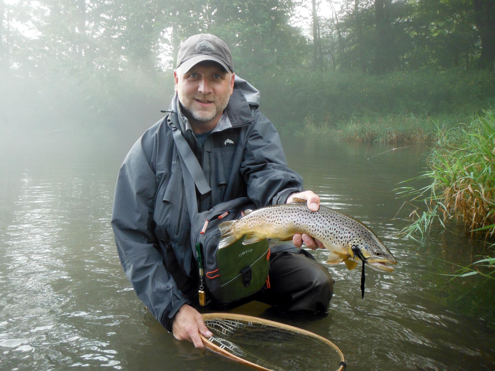 Paul weamer angler sport group for Fly fishing split shot