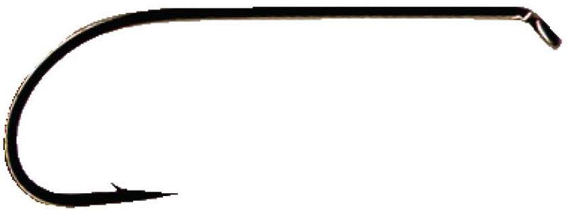 Daiichi Low Water Salmon Hook Daiichi Salmon Hooks (Black) Size 10 Count 100