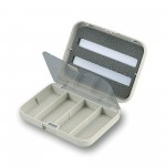 Small 3-Row Tube Fly Box
