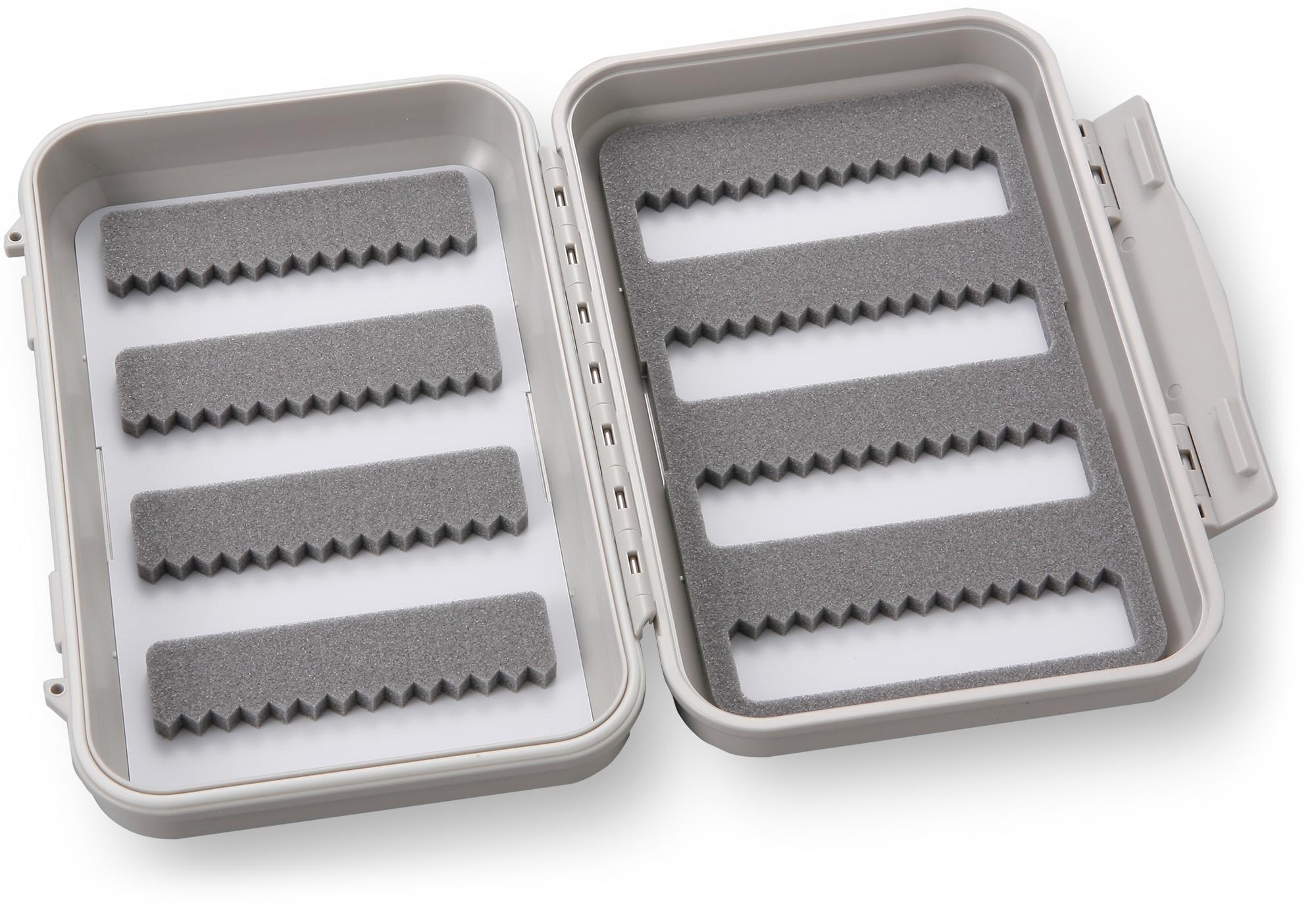 Medium 8-Row Waterproof Fly Box