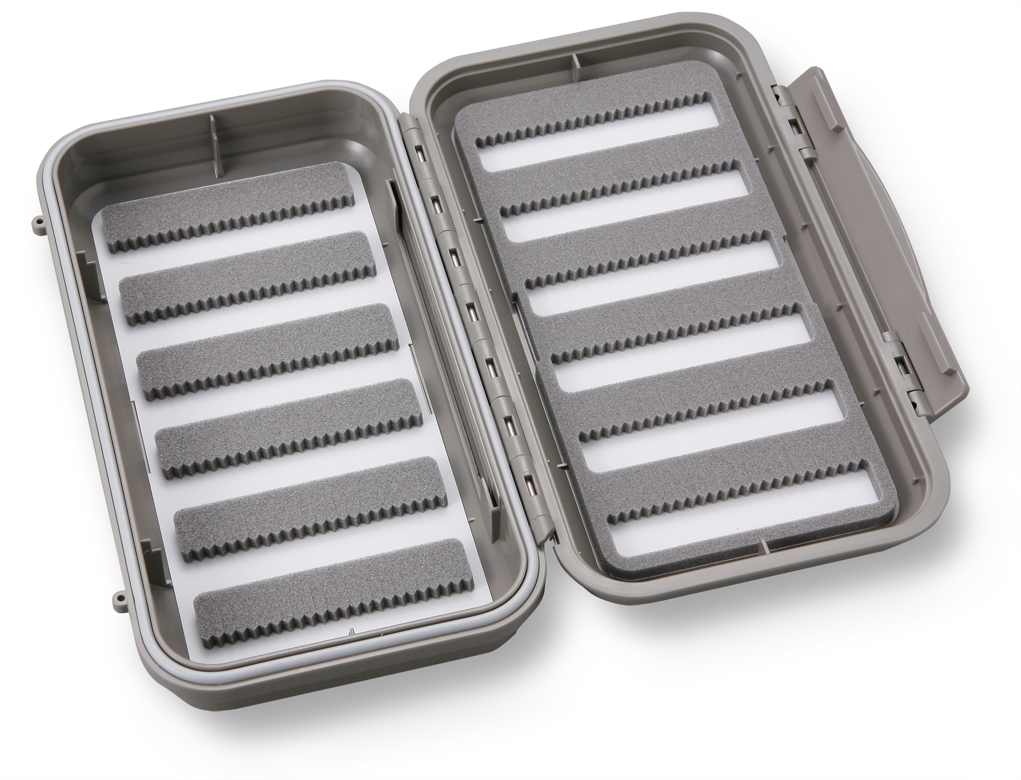 Large 12-Row Waterproof Fly Box