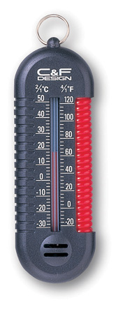 3-in-1 Thermometer / Black