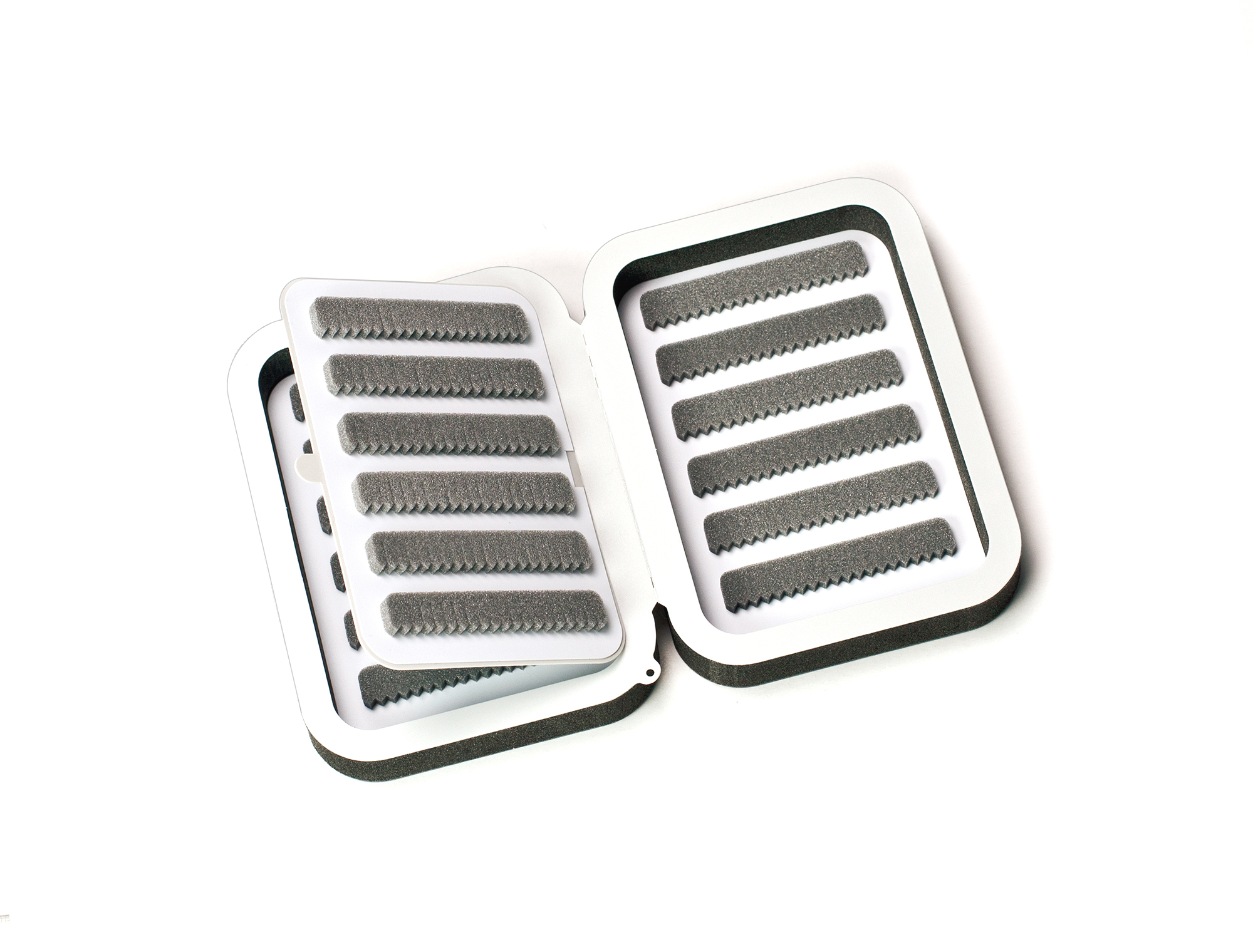 Small 12-Row Ultra-Lite Fly Box with Flip Page