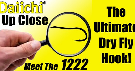 Daiichi 1222- The Ultimate Dry Fly Hook