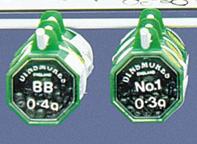 DINSMORE-BLK RND 1-SHOT,SIZE 4