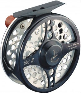 VOSSELER REEL RC2 - BLACK AND SILVER