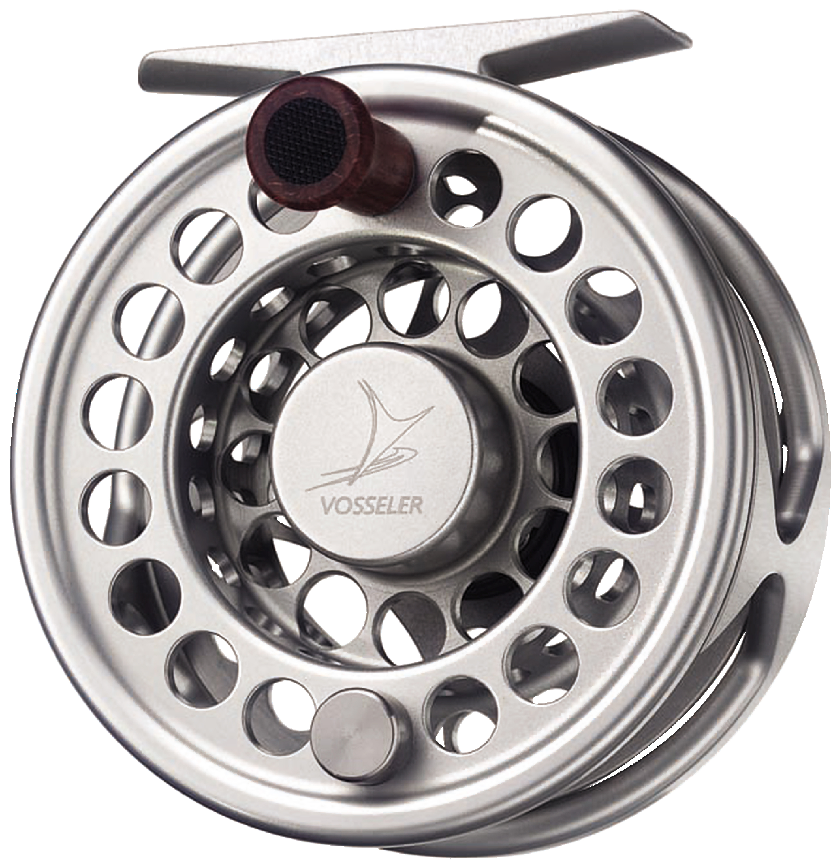 VOSSELER REEL RC2L-BLACK AND SILVER