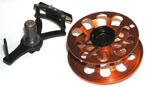 VOSSELER TRYST 5/6 REEL- BURNT ORANGE