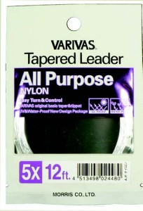 All Purpose Tapered Leaders - 12 ft.