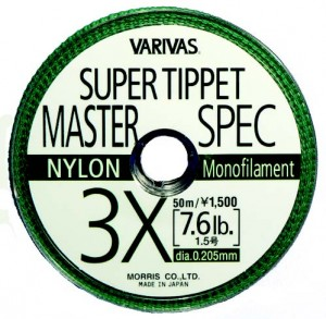 VARIVAS SUPER TIPPET MS-NYLON-6X