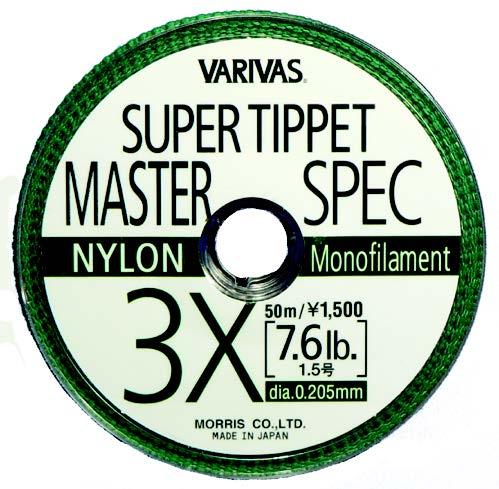 VARIVAS SUPER TIPPET MS-NYLON-8X