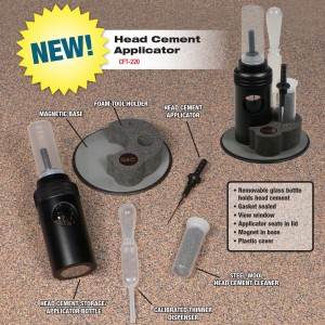 ●The C&F way to finish the fly with. Head Cement Applicator kit is the most complete and convenient item for those who won't compromise anything in fly tying ●The outer bottle has a magnetic bottom to attach to vise bases made of iron ●Comes with needles of different sizes (standard and midge) ●Needle cleaner included