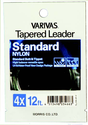 Standard Tapered Leaders - 12 ft.