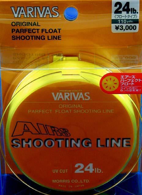 AIRS SHOOTING LINE 24LB.-47LB. 100M
